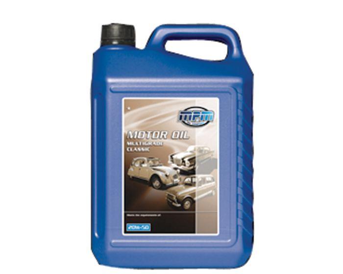 MPM motorolie 20W-50 Multigrade Classic 5 liter