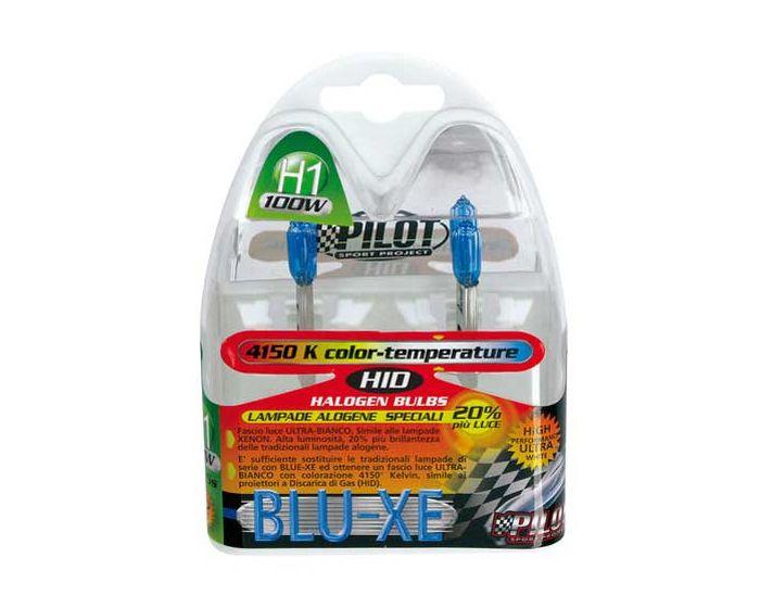 Verlichting H1 Blue-Xe lampen 12V 100W 4500K