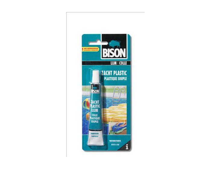 Bison Zacht Plastic lijm 25ml