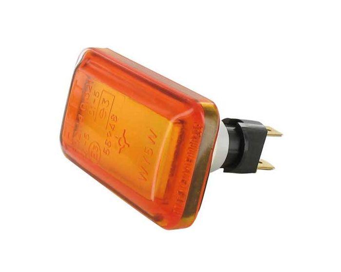 Exterieur - Zijlamp 12 Volt amber 1 stuk
