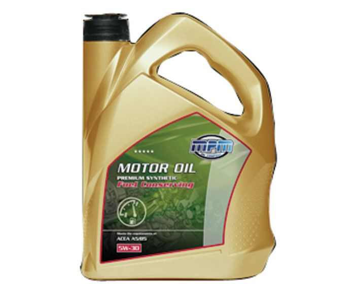 MPM motorolie 5W30 Premium Synthetic Fuel Conserving Ford 5 liter