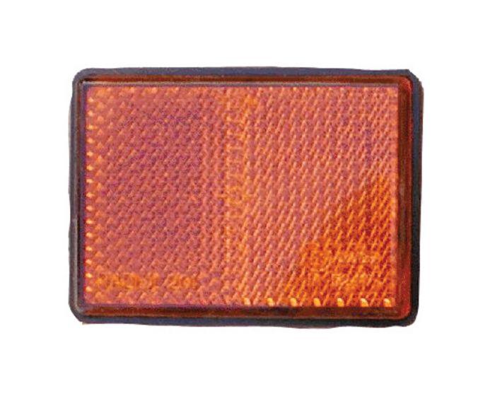 Reflector 82x36mm zelfklevend oranje