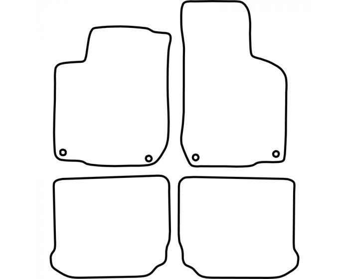 Automatten Seat Leon 1999-2005 / Toledo 1999-2004