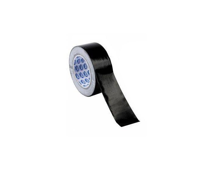 Duct tape zwart 50 mm 25 meter