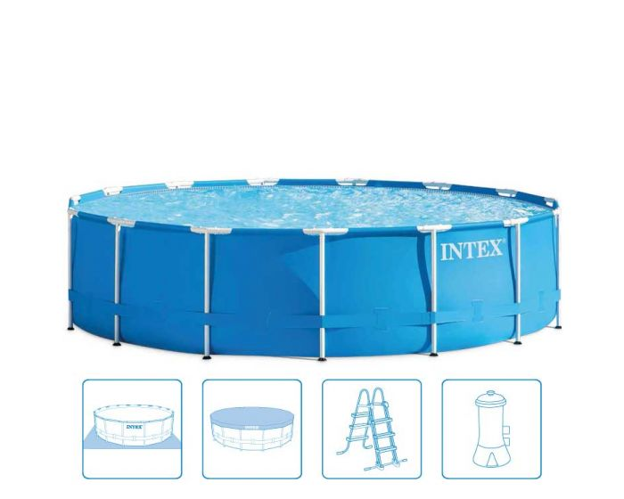 Intex Metal Frame Pool Ø 457 x 107 (set)