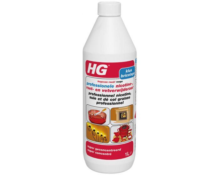 HG professionele nicotine, roet en vetverwijderaar (hagesan rood)