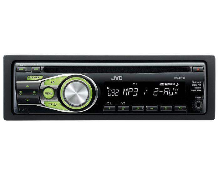 JVC KD-R332 Autoradio CD-speler