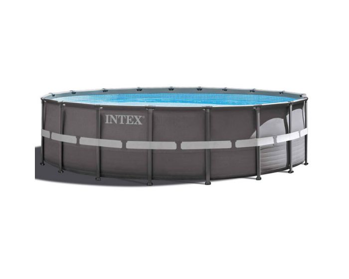 Intex ultra frame pool 549 cm for Groot opzetzwembad