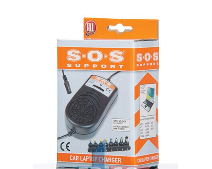 SOS Autolaptoplader 9-dlg 7500ma