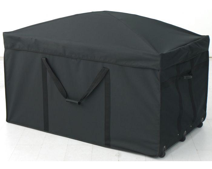 Kussenbox Textileen zwart
