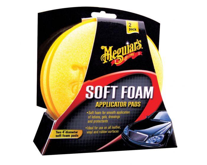 Meguiars High Tech soft foam applicator pads X3070