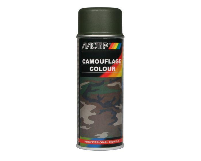 Motip camouflagelak 400ml ral 6014