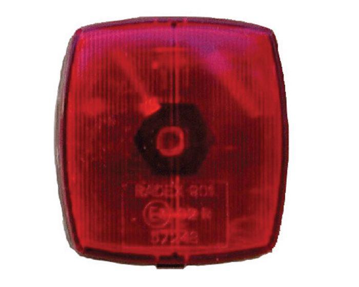 Breedtelicht rood 66 x 62mm