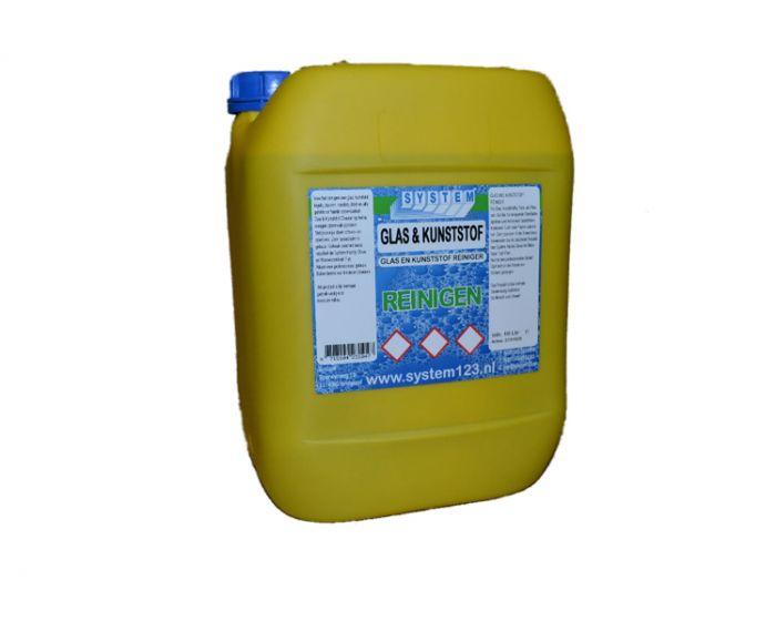System glas-kunststofcleaner  10 liter