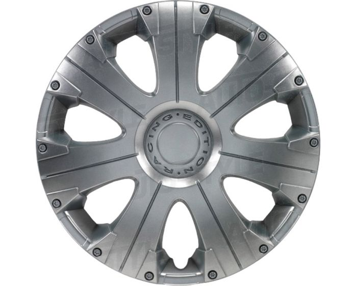 Racing Silver - 13 inch wieldoppen