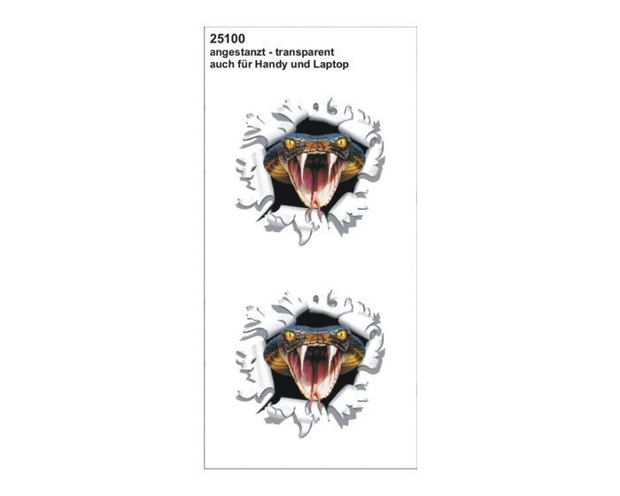 Kogelgat cobra set sticker 60x60