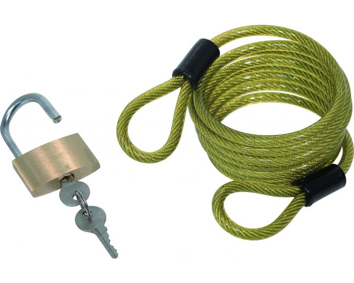 Kabel met hangslot