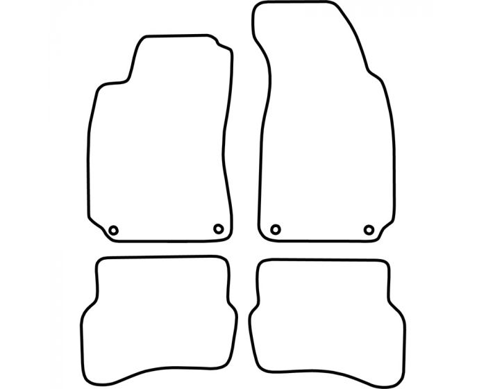 Automatten Volkswagen Passat 1996-2005