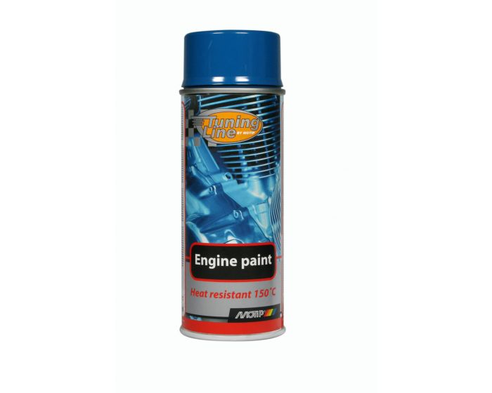 Motip engine paint blue 400ml