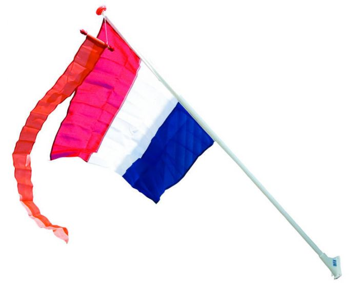 Vlag Nederland 90x150cm zonder stok/vaandel