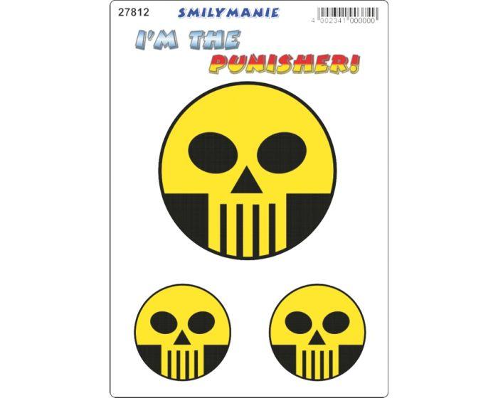 Smiley punisher sticker