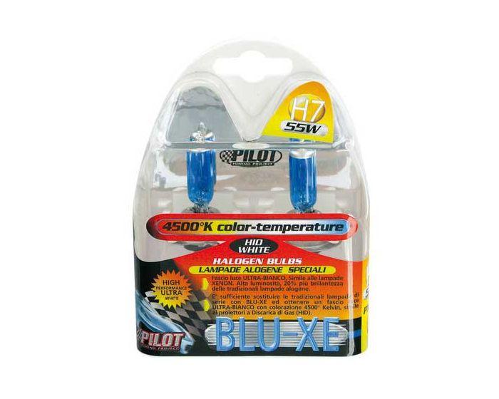 Verlichting H7 Blue-Xe lampen 55W 4500K