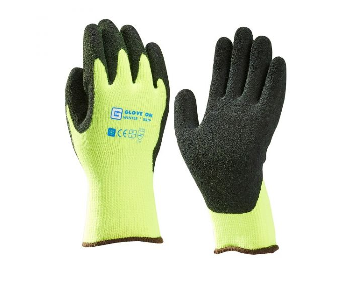 Glove on wintergrip werkhandschoen maat L