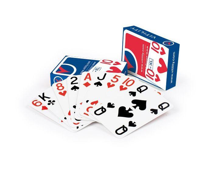 Speelkaarten groot Vitility