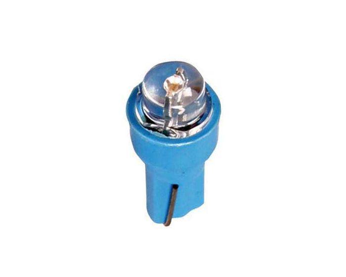 Verlichting T5 lamp 1x led 12V paars