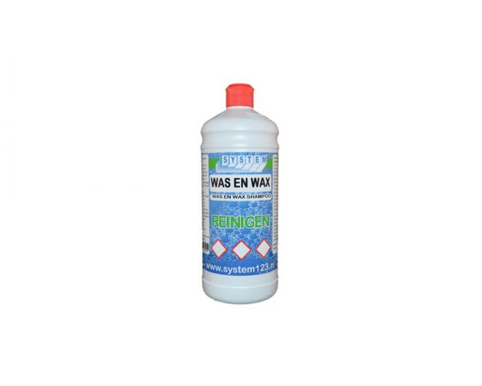 System was & wax shampoo 1 liter
