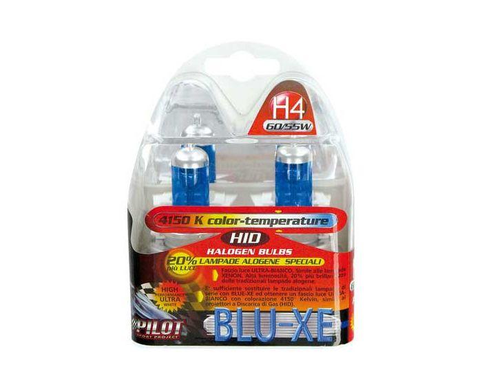 Verlichting H4 Blue-Xe lampen 60/55W 4500K