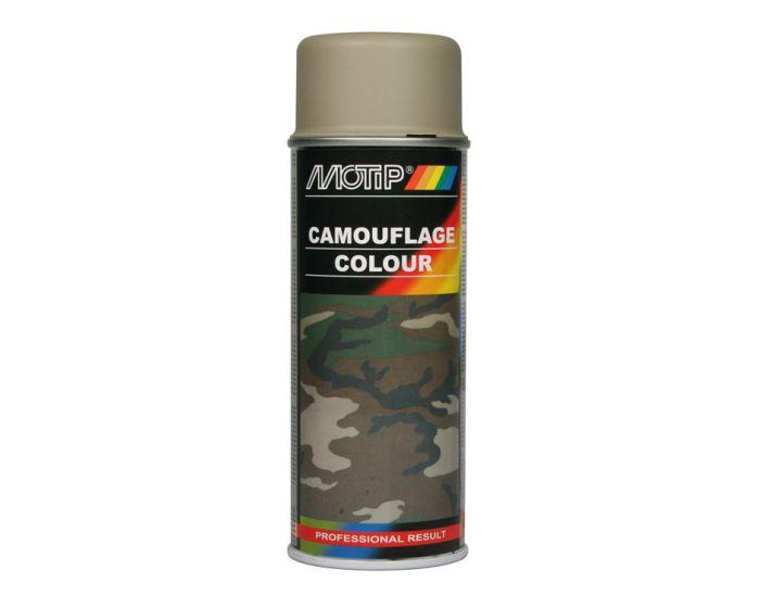 Motip camouflagelak 400ml grijs