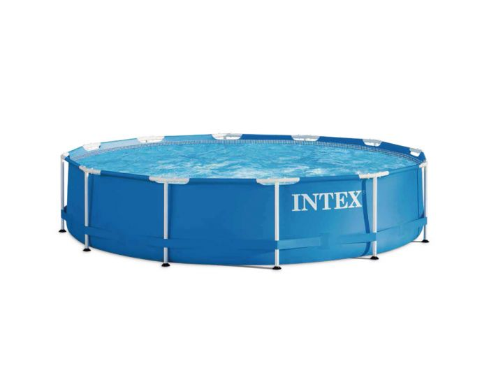 Intex metal frame pool 366 cm for Heuts zwembad