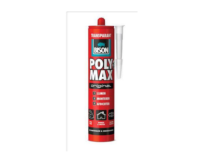 Bison Poly Max Original Transparant 425gram