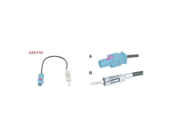 Antenne adapter BMW '01- Iso