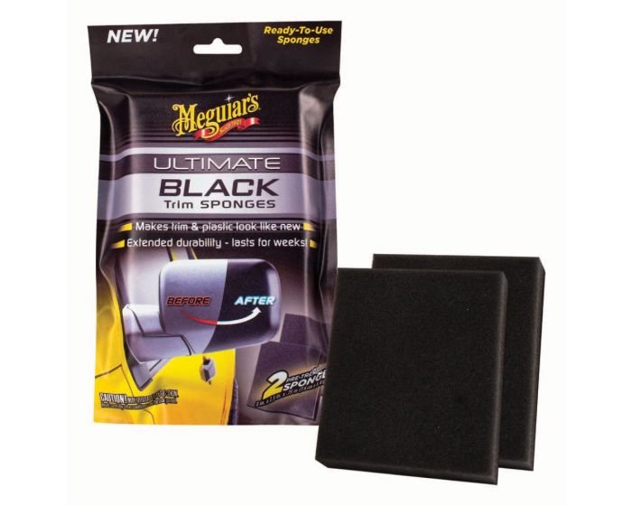 Meguiars Ultimate Black Sponges G15800EU - 2 stuks