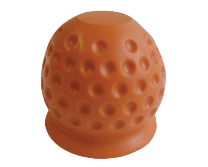 Trekhaakdop Golfbal rood/oranje