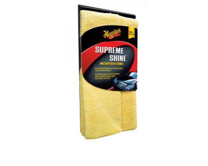 Meguiars Supreme shine microfiber towel X2010