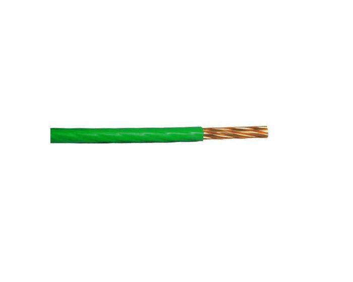Kabel 1.5 mm² groen- 10 meter