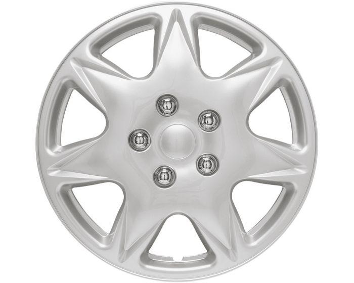 California Silver - 16 inch wieldoppen