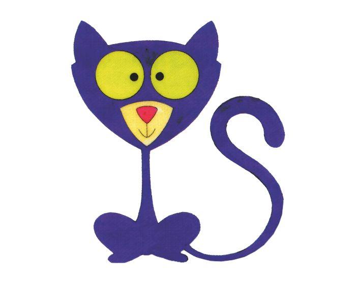 Kat sticker 11,5x10