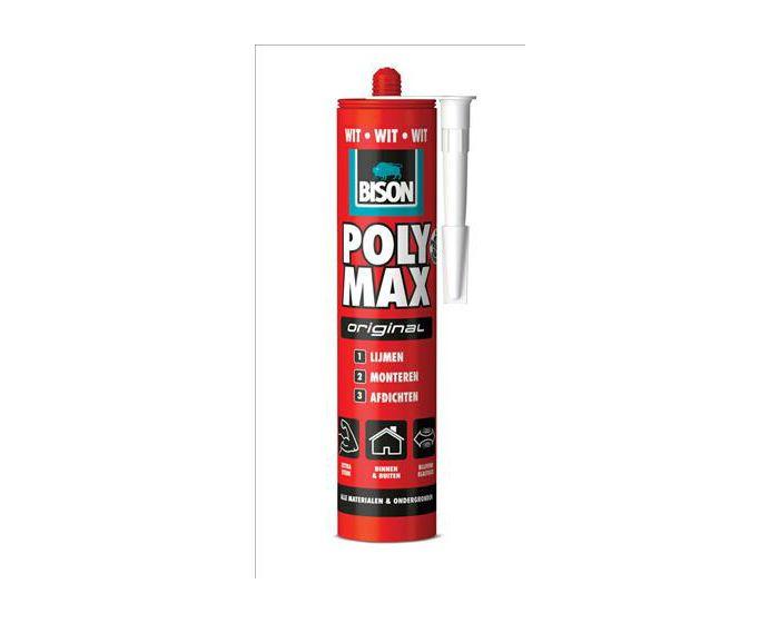 Bison Poly Max Original wit 425gram