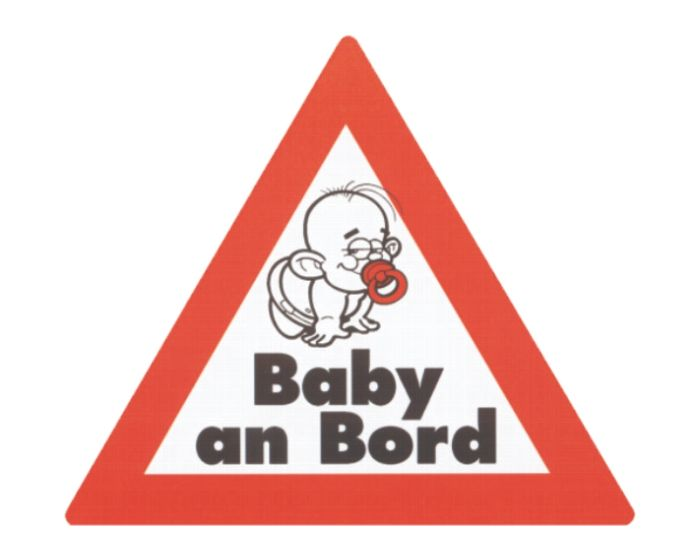 Baby an bord sticker