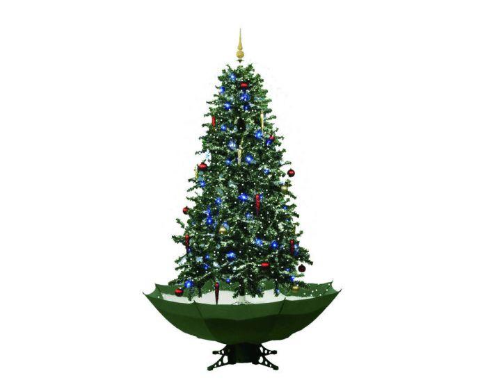 Sneeuwende Kerstboom Groen