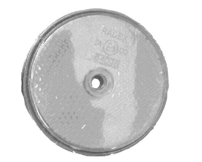 Reflector 60mm schroef wit