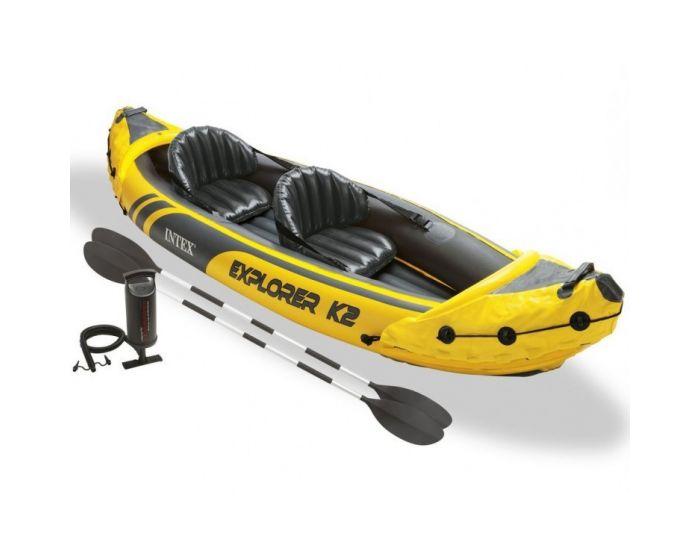 Opblaasboot Intex - Explorer K2 Set