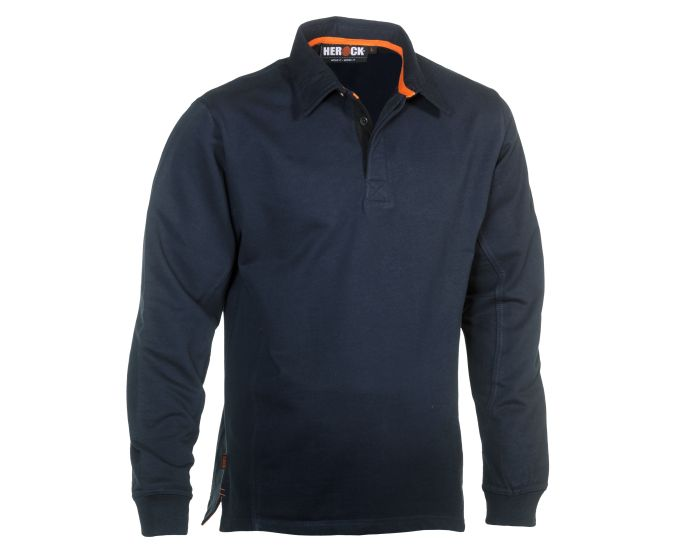 Herock Troja Polo Long Sleeves Navy S