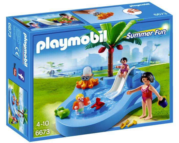 Playmobil Kinderbad met Glijbaan 6673