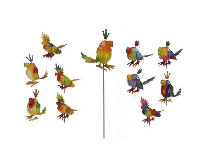 Vogel op stick