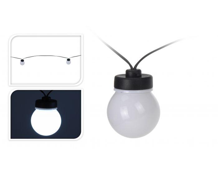 Feestverlichting 10 lampen wit